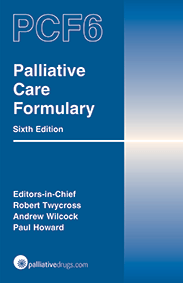 Palliative Care Formulary 6th edition