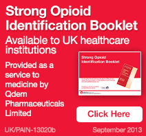 Strong Opioid Booklet - Available to UK healthcare institutions